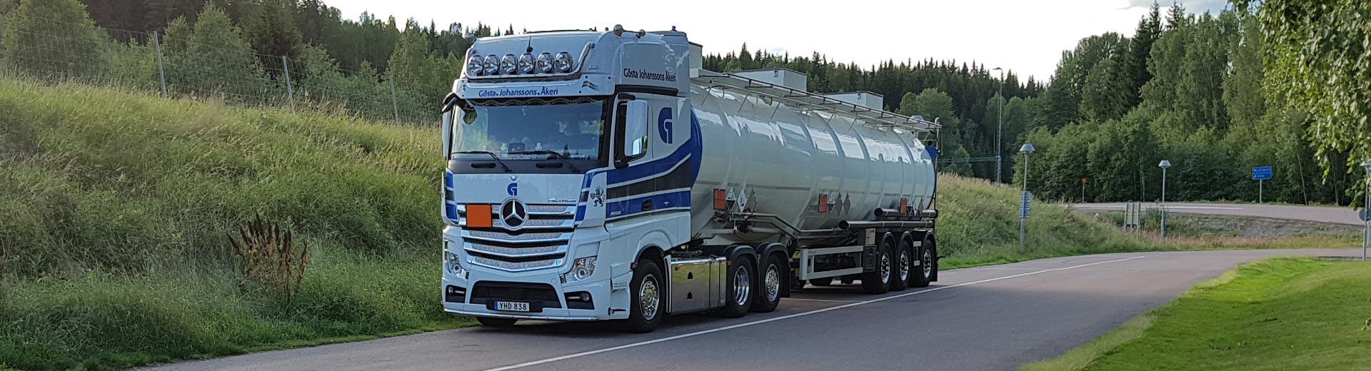 Tanktransport av farligt gods